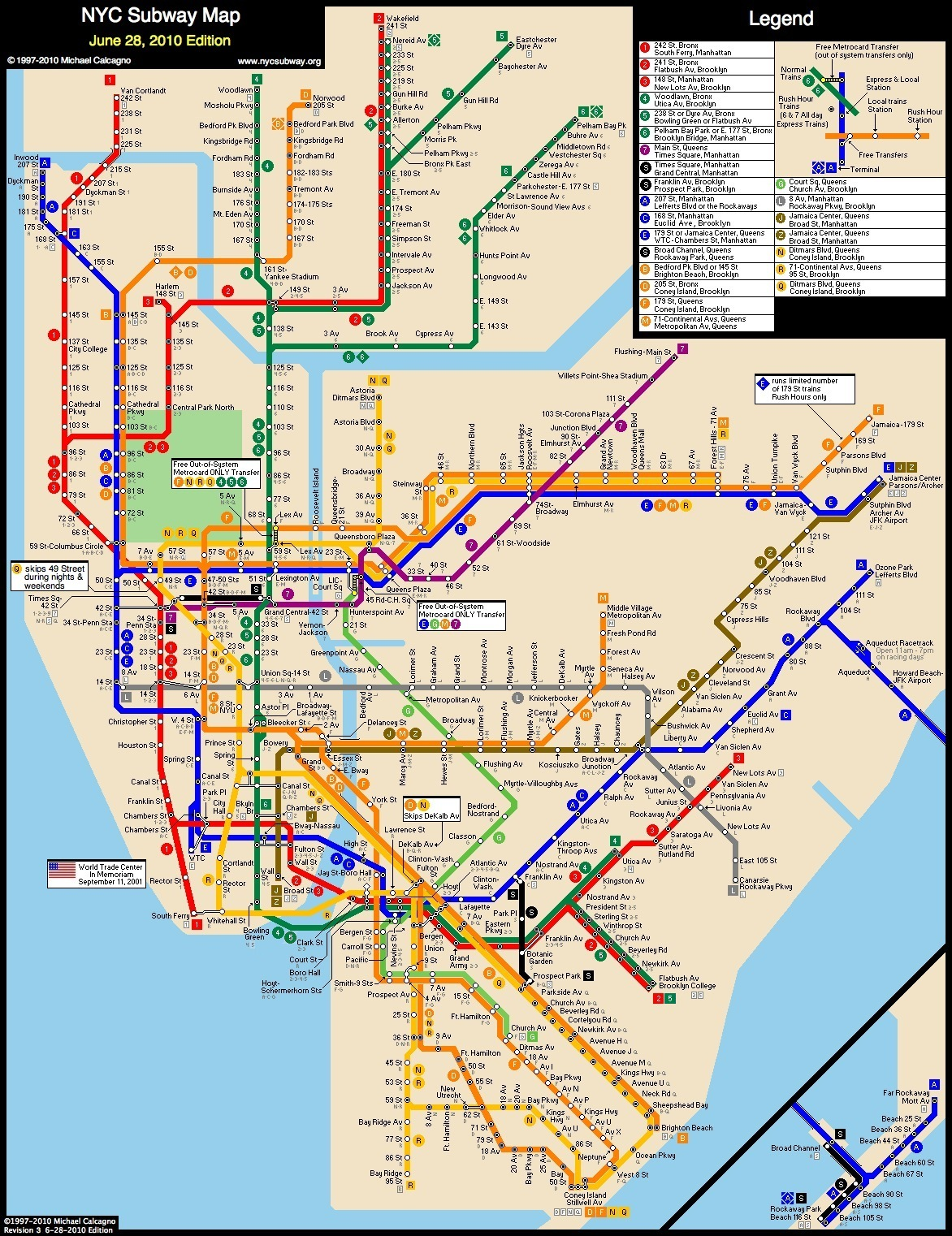 Nyc Subway Map 2014.Transit Tips For Tourists And Other Strangers Xaviertrevino