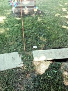 Maggie's grave