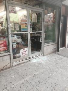 The front door of S&Y Organics.