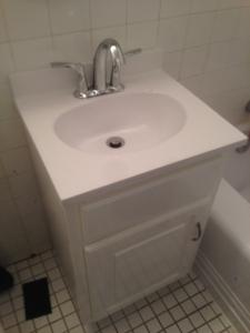 first sink