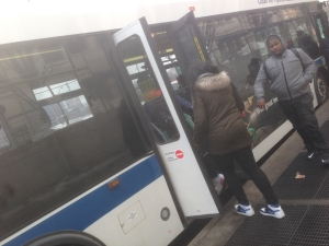 How do you board a bus in the Bronx? Through the back door, of course!