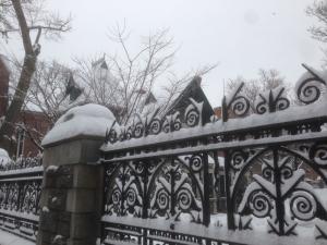 snow cemetary