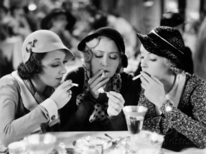 I'm pretty sure Ann Dvorak uttered those famous words in Three On A Match.