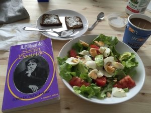 Salad with a side of Madame Blavatsky.