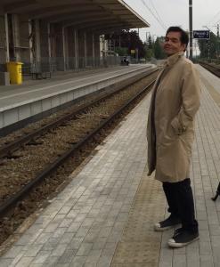 X on platform